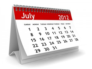 Calendar Image of July