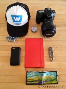 Porter Haney travel kit
