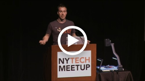 Swift speaks at NY Tech Meetup