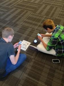 Sphero programming