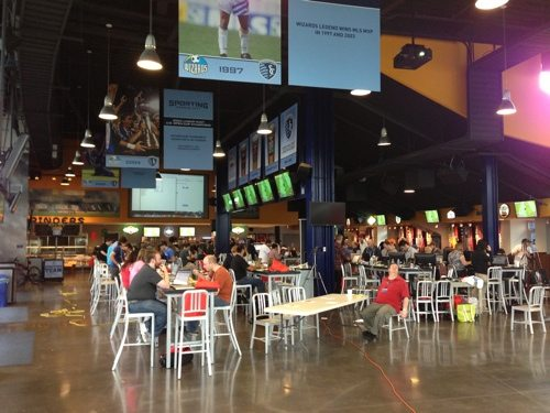 Hack the Midwest Sporting KC Park Venue