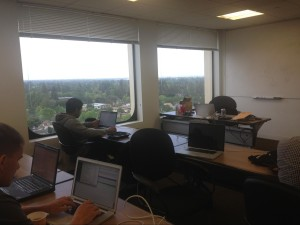 Laptops out at private Red Hat OpenShift hackathon