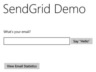 Final demo screenshot (1 of 2)