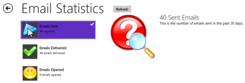 Final demo screenshot (2 of 2)