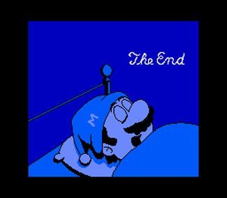 Mario 2 Ending screenshot