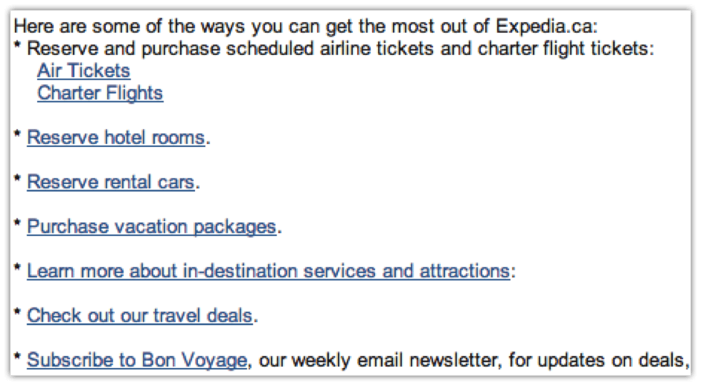 Expedia_Email_Example