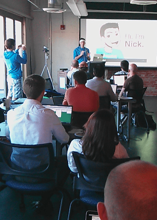 API Hackday -- Nick's pitch
