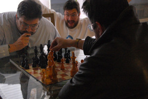 A crazy game of chess