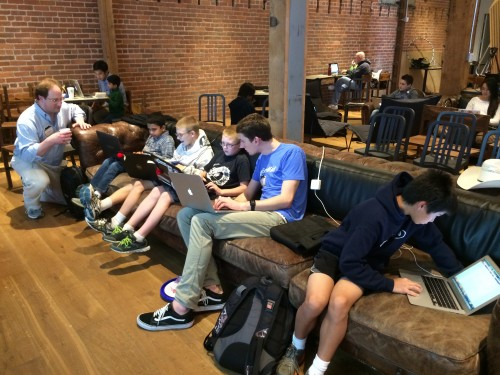 Young Rewired State youth hackathon in SF