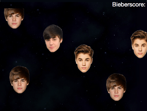 Bieber heads