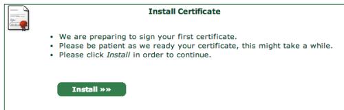 StartSSL Install Certificate