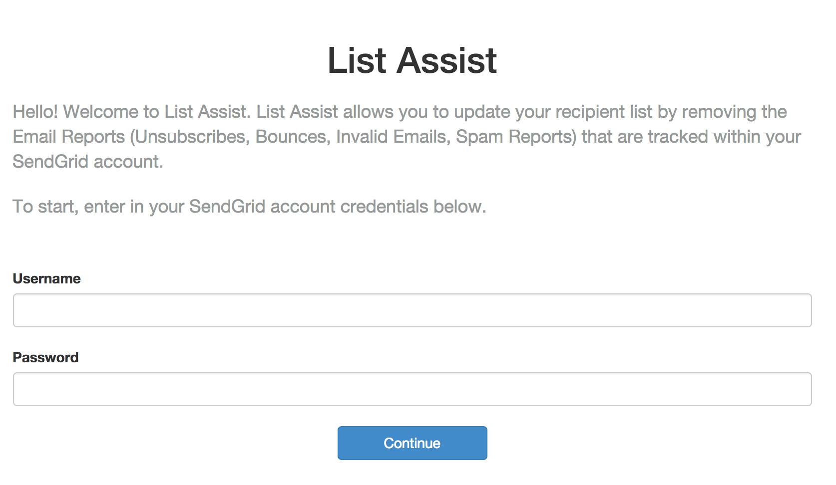 List Assist